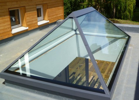 Image result for atrium windows for flat roof